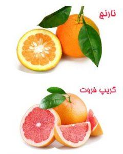 رایحه نارنج و گریپ فروت